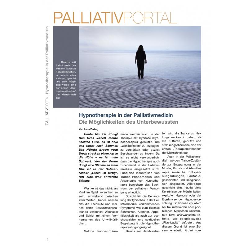 Hypnotherapie in der Palliativmedizin